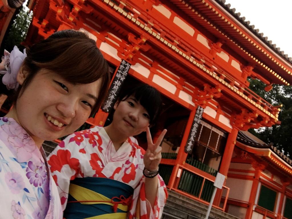 夏休み!京都で浴衣レンタル!2016年7月26日6