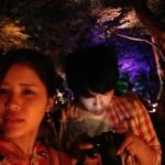 皆様、最後の「呼応する球体-下鴨神社糺の森」へ2016年8月28日8
