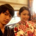 浴衣で「京都 食とアートのマーケット in 東本願寺」2016年8月20日12