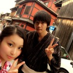 浴衣で「京都 食とアートのマーケット in 東本願寺」2016年8月20日13