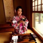 浴衣で「京都 食とアートのマーケット in 東本願寺」2016年8月20日14