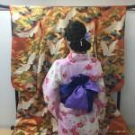 浴衣で「京都 食とアートのマーケット in 東本願寺」2016年8月20日5