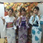 浴衣で「京都 食とアートのマーケット in 東本願寺」2016年8月20日7