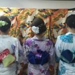 浴衣で「京都 食とアートのマーケット in 東本願寺」2016年8月20日8