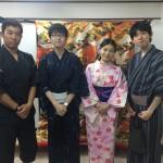 浴衣で「京都 食とアートのマーケット in 東本願寺」2016年8月20日3