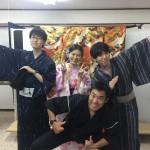 浴衣で「京都 食とアートのマーケット in 東本願寺」2016年8月20日4