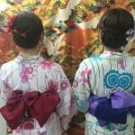 やはり今日も浴衣レンタルで「下鴨神社 糺ノ森の光の祭」2016年8月25日3