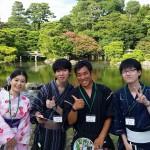浴衣で「京都 食とアートのマーケット in 東本願寺」2016年8月20日20