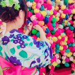 今日・明日で最後の「呼応する球体-下鴨神社糺の森」2016年8月27日25