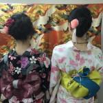 上海から京都で浴衣レンタル♪2016年9月3日3