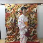 浴衣レンタルで東本願寺と名勝 渉成園へ♪2016年9月7日2