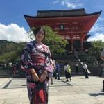 上海から京都で浴衣レンタル♪2016年9月3日5
