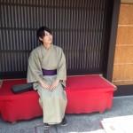 清水寺は当店より松原通を真っ直ぐです!2016年9月11日12