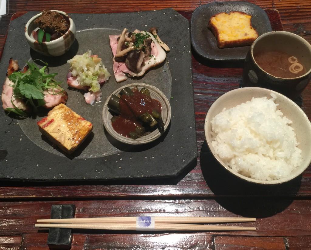町家ランチ「omo cafe(オモカフェ)」ごはんプレート5