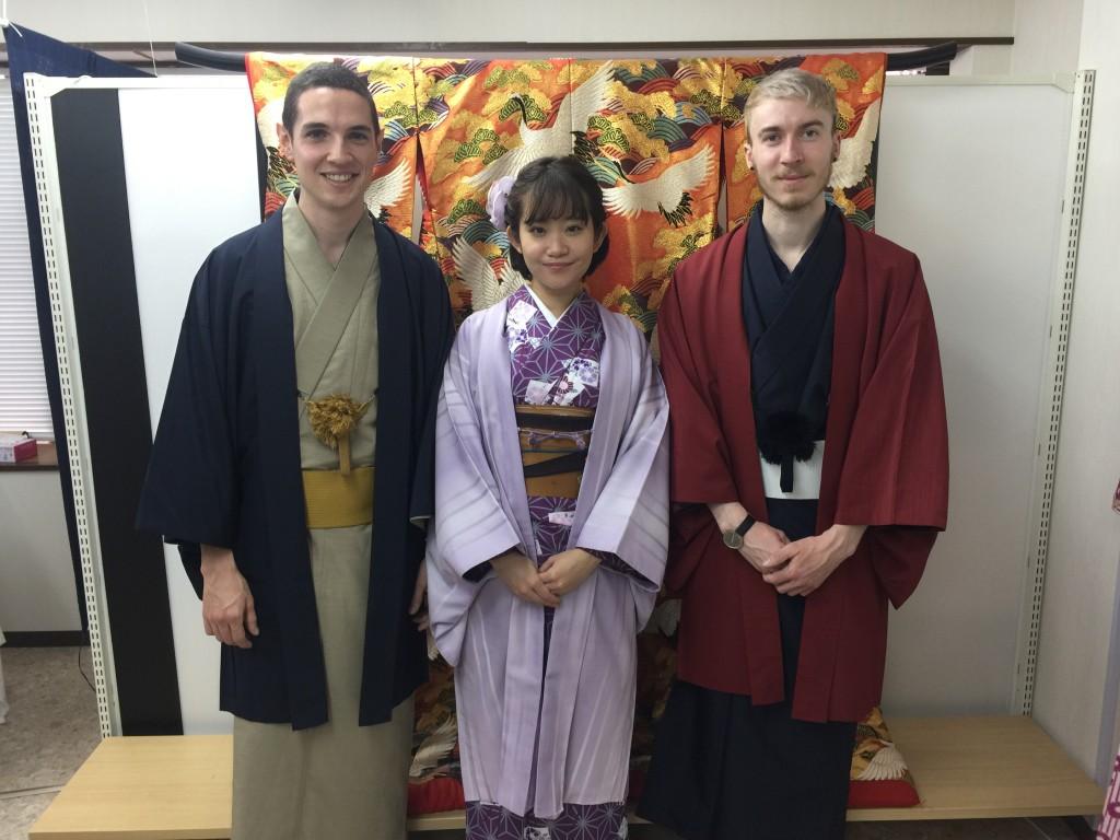 ニュージーランドから京都で着物レンタル♪2016年10月29日3