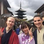 ニュージーランドから京都で着物レンタル♪2016年10月29日11