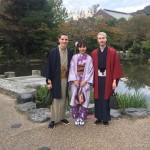 ニュージーランドから京都で着物レンタル♪2016年10月29日12
