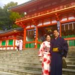 今日も大人気の嵯峨嵐山へ♪2016年11月4日10