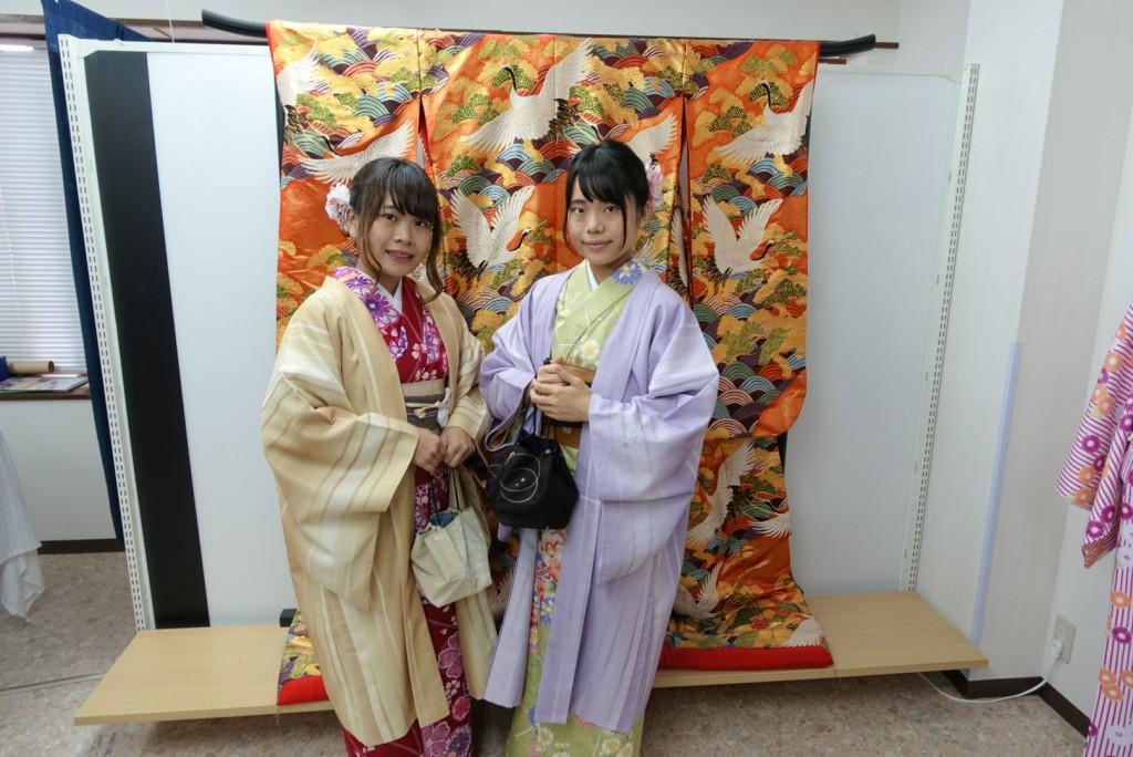 やはり大人気!着物レンタルで八坂庚申堂へ!2016年11月23日12