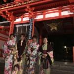 ベトナムから着物レンタルで祇園・先斗町を散策♪2016年11月17日13