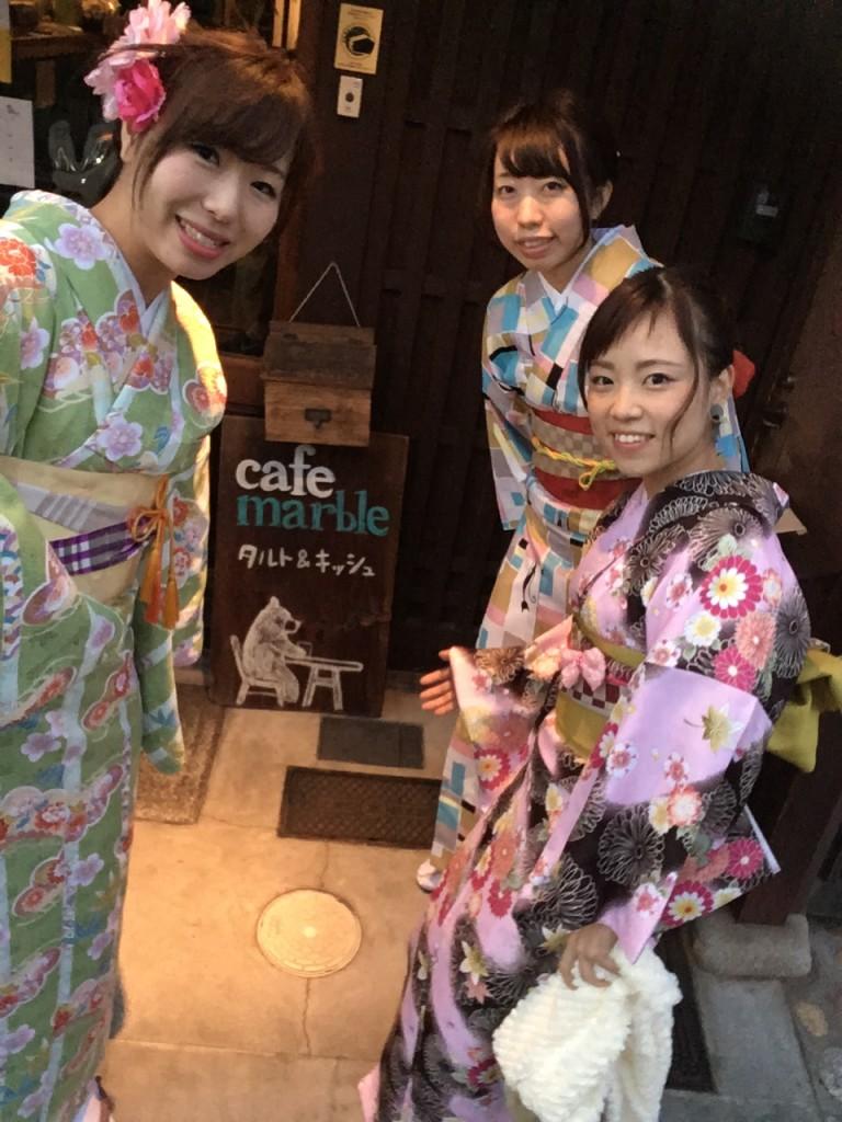 やはり大人気!着物レンタルで八坂庚申堂へ!2016年11月23日52