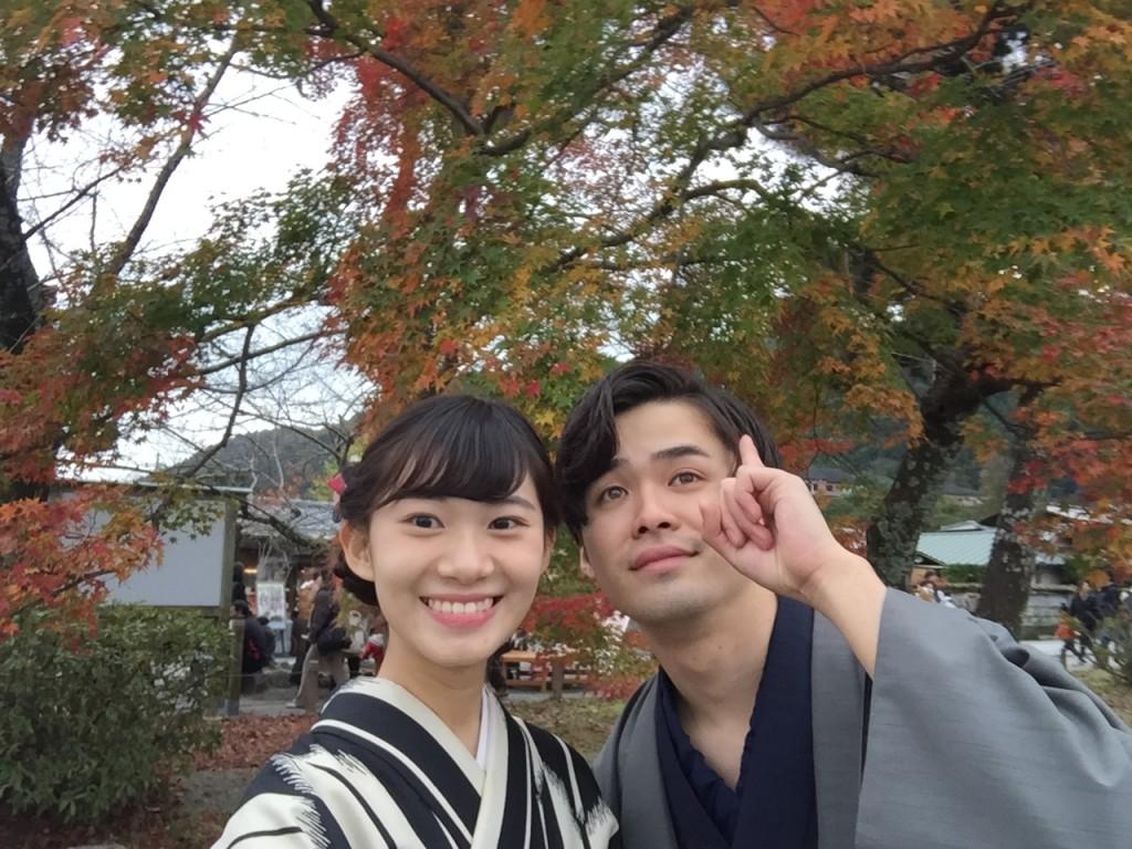 京都の紅葉は観光客でいっぱいです!2016年11月26日49