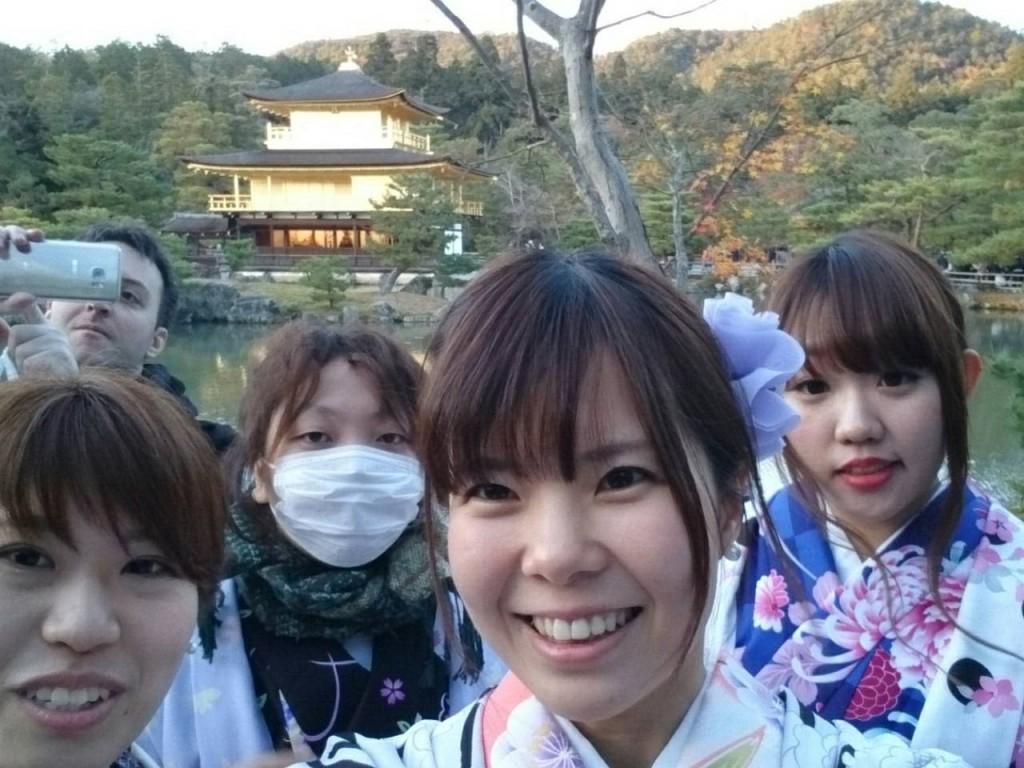 やはり大人気!着物レンタルで八坂庚申堂へ!2016年11月23日50