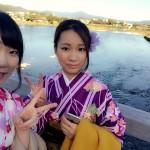 京都で人気の観光スポット嵯峨嵐山へ♪2016年11月2日8