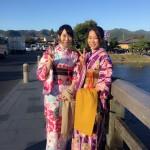 京都で人気の観光スポット嵯峨嵐山へ♪2016年11月2日7