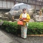 雨の京都を着物でお出掛け♪2016年11月27日5
