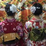 仲良し姉妹!着物レンタルで八坂庚申堂へ♪2016年11月5日2