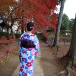 羽織いらずの良いお天気!東山を人力車で♪2016年11月30日22