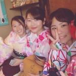 ベトナムから着物レンタルで祇園・先斗町を散策♪2016年11月17日15
