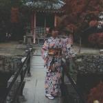 ベトナムから着物レンタルで祇園・先斗町を散策♪2016年11月17日12