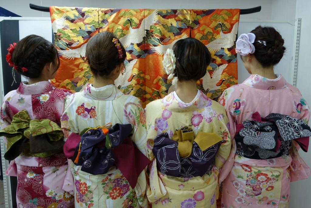 やはり大人気!着物レンタルで八坂庚申堂へ!2016年11月23日2