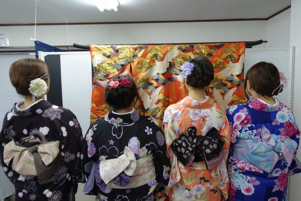 やはり大人気!着物レンタルで八坂庚申堂へ!2016年11月23日20
