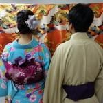 ベトナムから着物レンタルで祇園・先斗町を散策♪2016年11月17日5