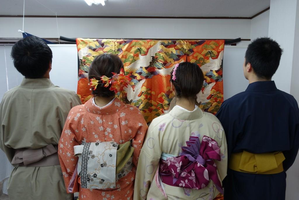 やはり大人気!着物レンタルで八坂庚申堂へ!2016年11月23日14