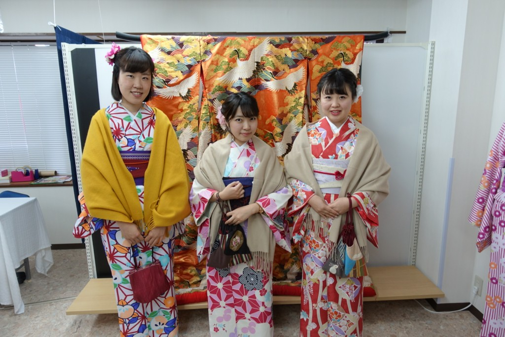 やはり大人気!着物レンタルで八坂庚申堂へ!2016年11月23日18