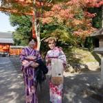 親子で着物レンタル!東福寺などへ♪2016年11月7日2