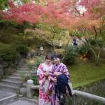 親子で着物レンタル!東福寺などへ♪2016年11月7日3