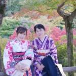 親子で着物レンタル!東福寺などへ♪2016年11月7日4