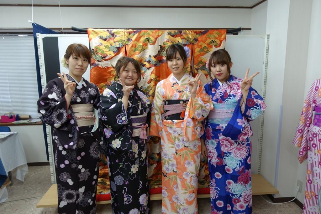 やはり大人気!着物レンタルで八坂庚申堂へ!2016年11月23日19