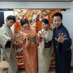 やはり大人気!着物レンタルで八坂庚申堂へ!2016年11月23日13
