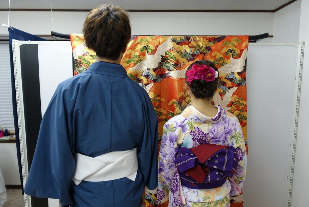 やはり大人気!着物レンタルで八坂庚申堂へ!2016年11月23日23