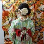 雨の京都を着物でお出掛け♪2016年11月27日2