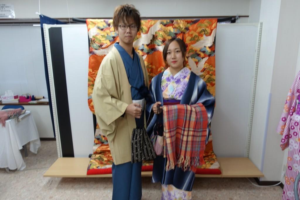やはり大人気!着物レンタルで八坂庚申堂へ!2016年11月23日24