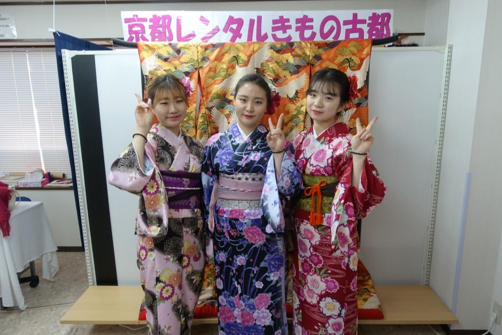 韓国から着物レンタル!京都で舞妓さんと❣2016年12月25日1