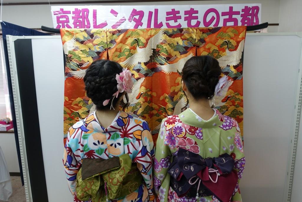 学生さん冬休み!愛知県から着物レンタル!2016年12月28日2