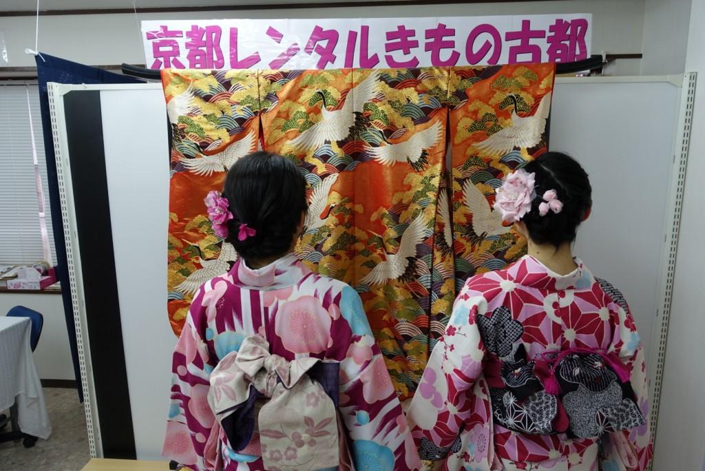 学生さん冬休み!愛知県から着物レンタル!2016年12月28日4